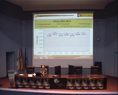 Proceso e criterios de avaliación de proxectos de investigación na ANEP  - IX Foro Internacional sobre evaluación de la calidad de la investigación y de la educación superior (FECIES)